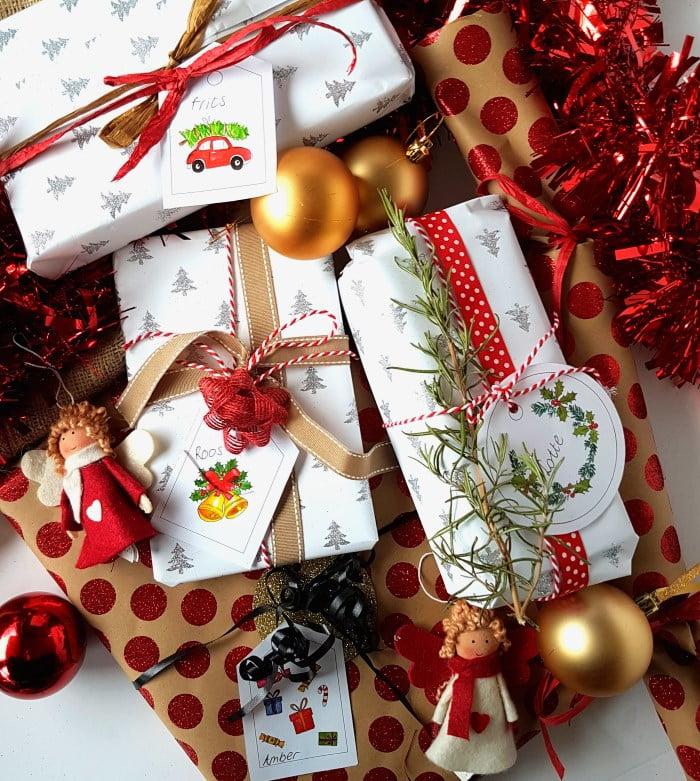 kerst inpakken mooi