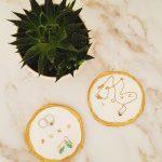 Zelfgemaakte sieradenbakjes van klei
