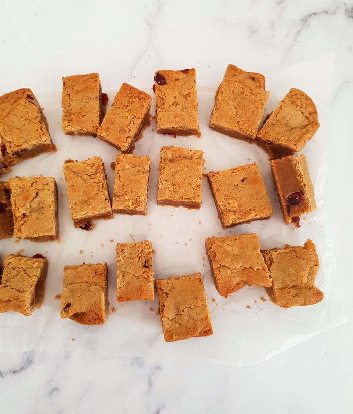 blondies recept bakken brownies
