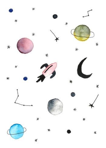 heelal illustratie