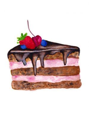 chocoladetaart taart verjaardag
