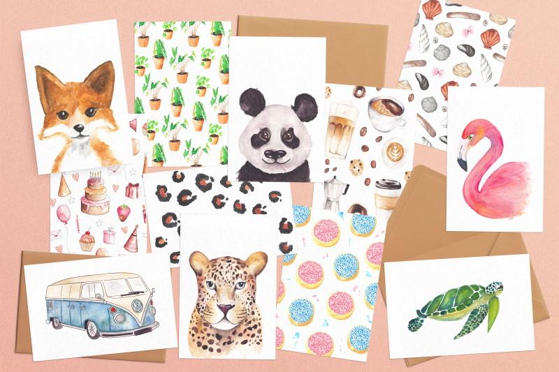 fritsy kaarten en posters overzicht kleurrijk