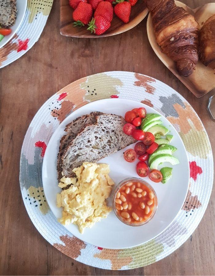 placemats brunch tafel dekken versieren ontbijt