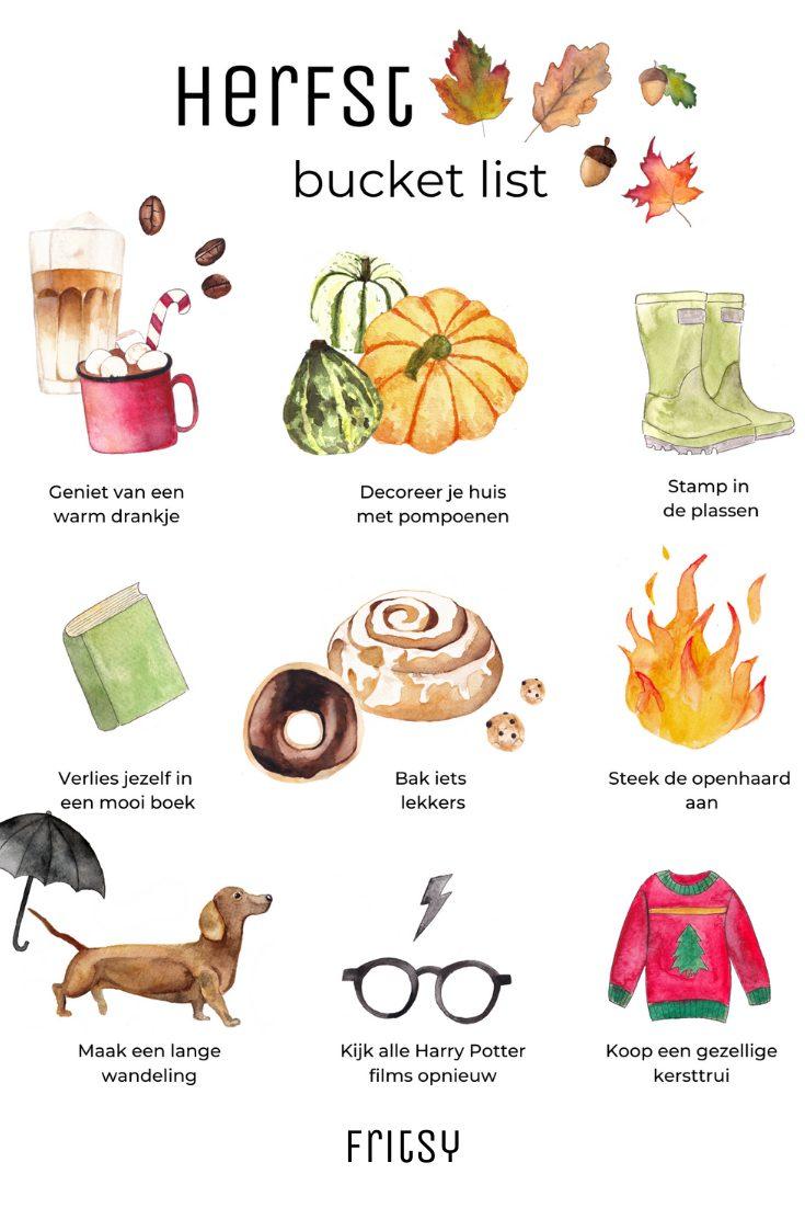 herfst bucket list