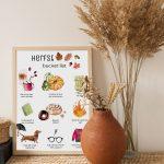 Printable: herfst bucket list