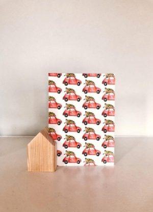 fritsy accesoires kaartenhuisje kaarthouder hout