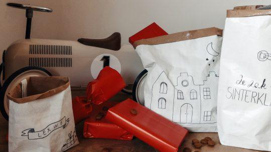 sinterklaas zak paper bag diy papieren zak