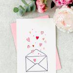 Valentijnskaart zelf maken stap voor stap