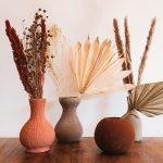 Terracotta vaasjes zelf maken met textuurverf