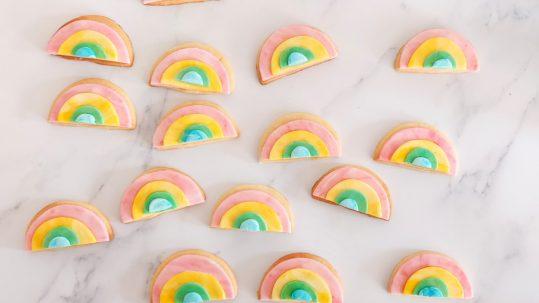 regenboog koekjes pride